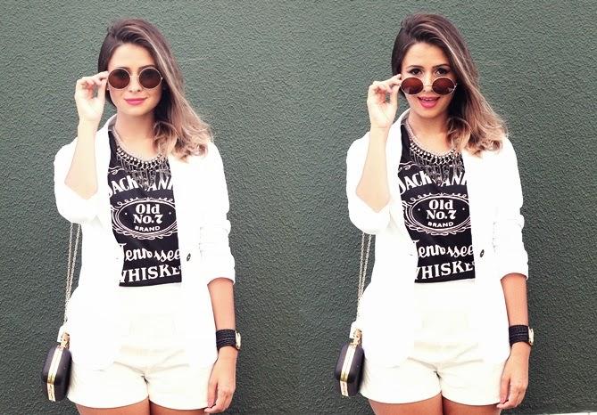 conjuntinho e t-shirt