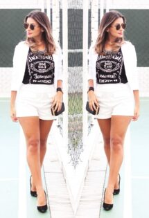 Look do dia: conjuntinho e t-shirt