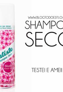 Dica da Vic: Shampoo Seco