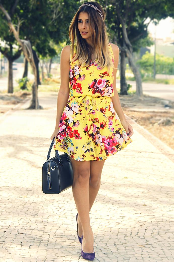 vestido para o verão