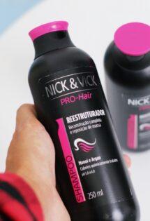Tratamento Reestruturador dos Fios – Nick & Vick