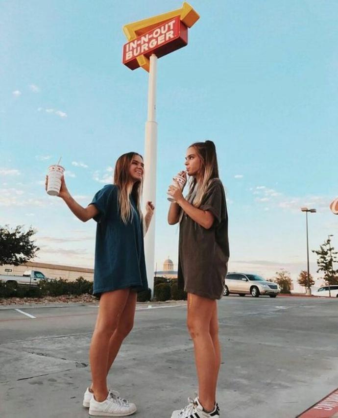Inspirações de fotos para fazer com uma amiga