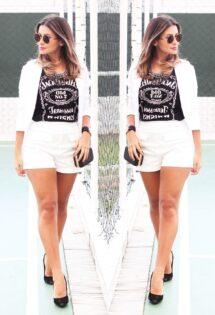 Look do dia: conjuntinho e t-shirt