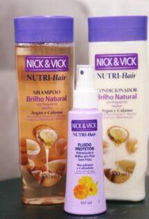 Cabelos limpos no dia-a-dia: Nutri-Hair por Nick e Vick