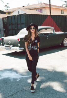 Look All black – Los Angeles