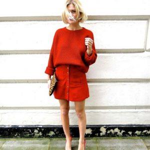 5 Looks monocromáticos vermelhos