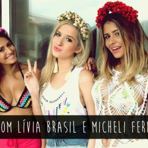 Tag com Micheli Fernandes e Lívia Brasil